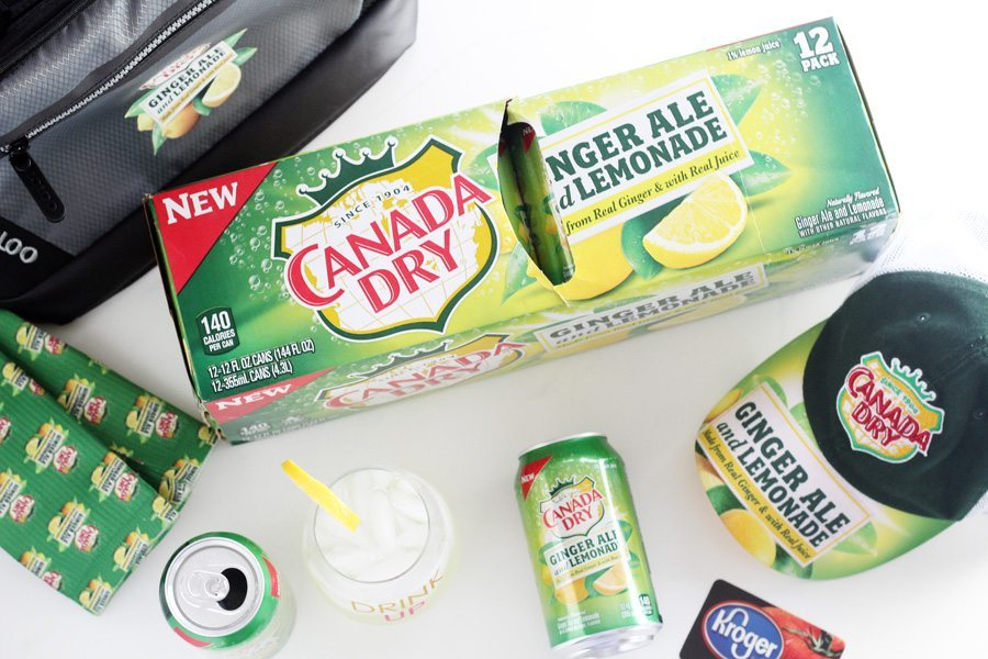 Canada Dry Swag including a cooler bag, baseball cap and more