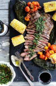 Marinated Flank Steak Asado