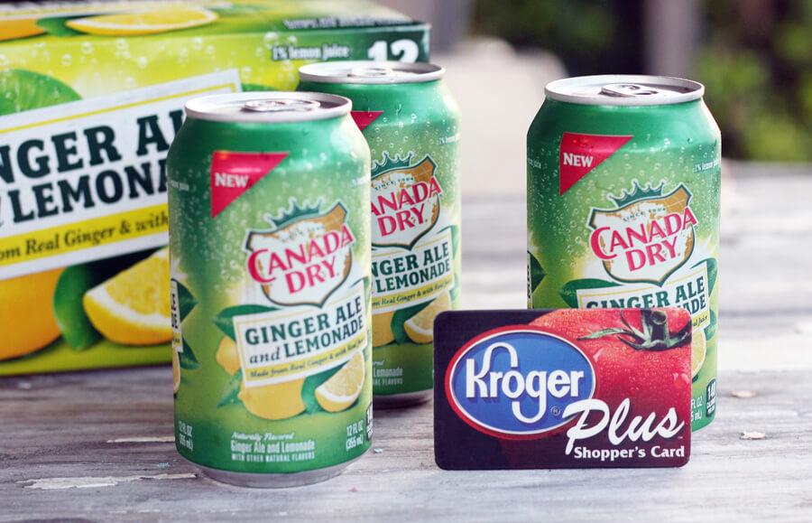 Canada Dry Ginger Ale Lemonade from Kroger