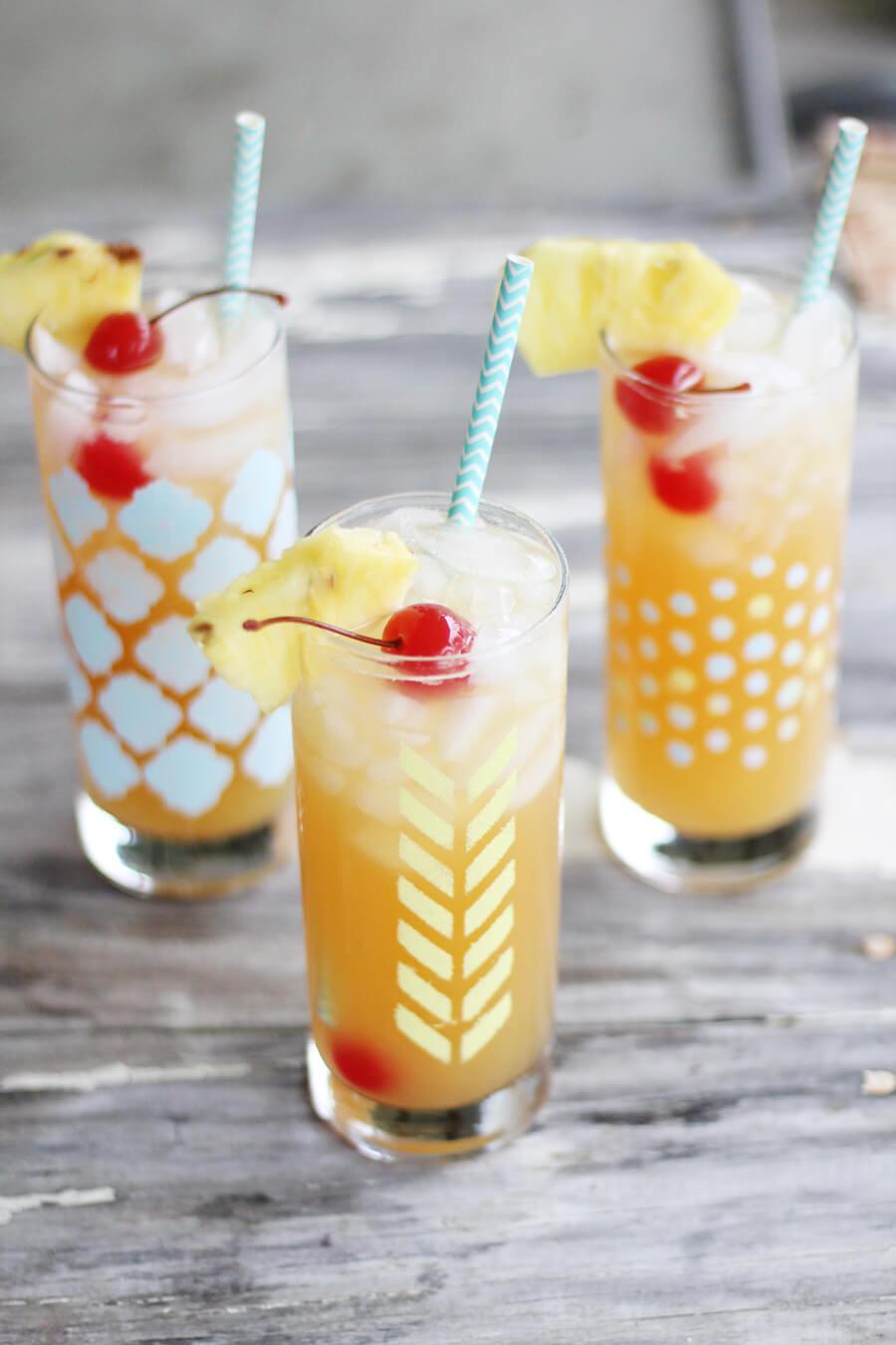 Tropical Lemonade Mocktail Recipe