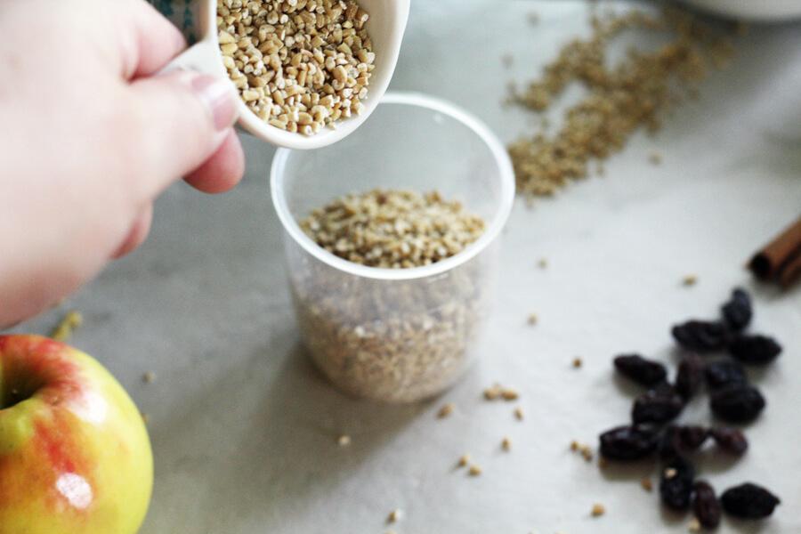 measuring steel cut oats