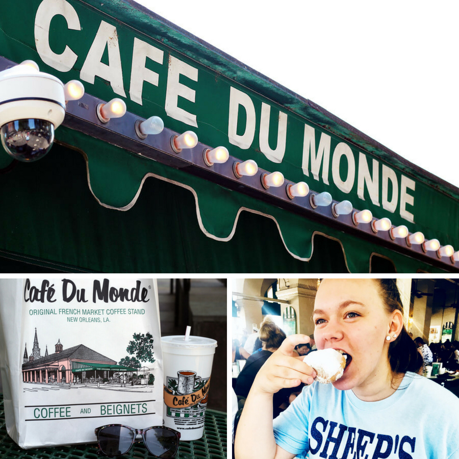 Cafe du Monde is a New Orleans classic.