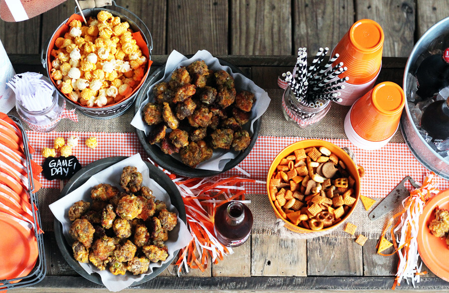 Win on Game Day with our X's and O's to Homegating Plus a recipe for Jalapeno Cheddar Sausage Balls