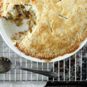 Homestyle Double Crust Chicken Pot Pie