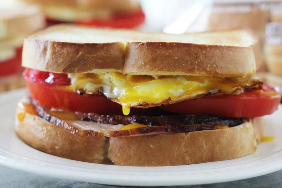 Farmhouse Breakfast Sandwich