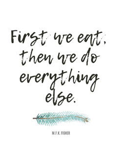 Food Quotes - M.F.K. Fisher