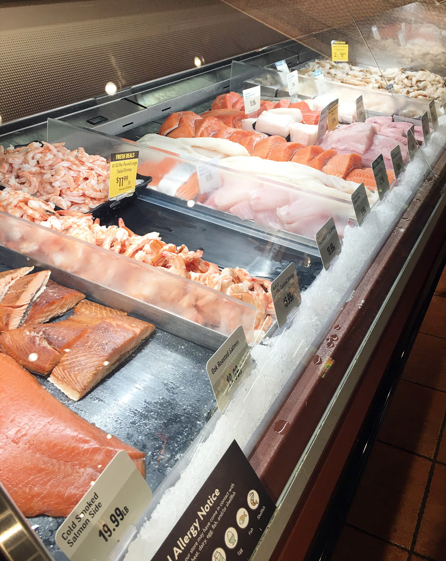 The Fresh Seafood Counter at The Fresh Market in Brentwood, Tennessee