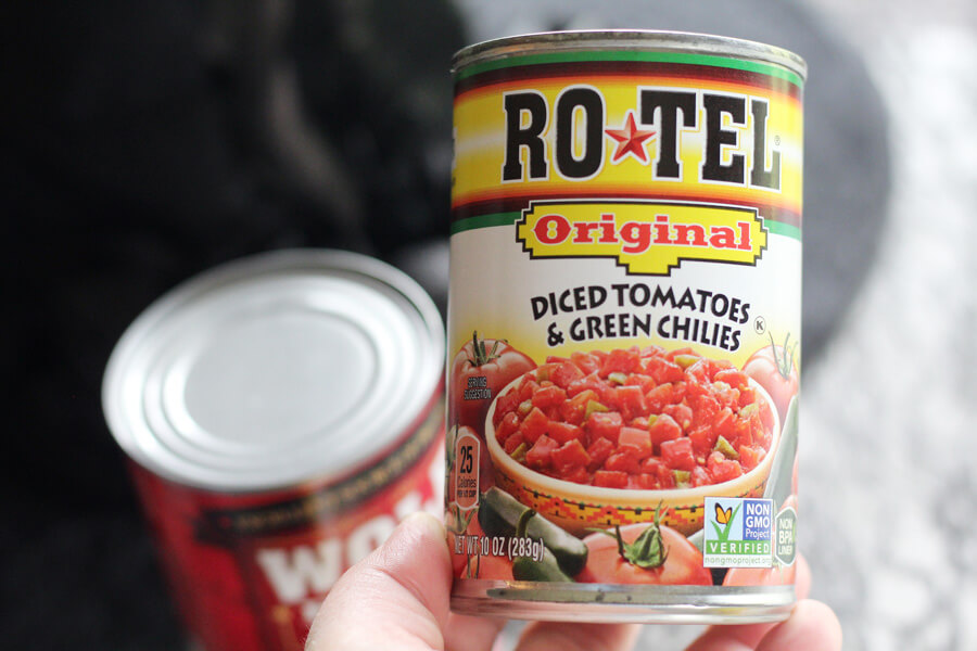 RO*TEL Original Diced Tomatoes + Green Chilies
