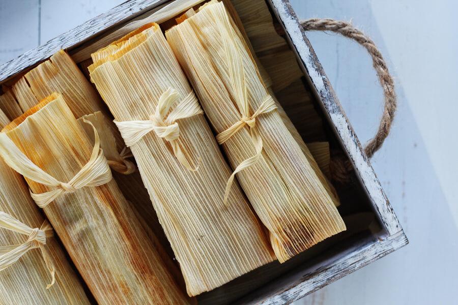 Poblano Chorizo + Cheese Tamales Recipe | Buy This Cook That