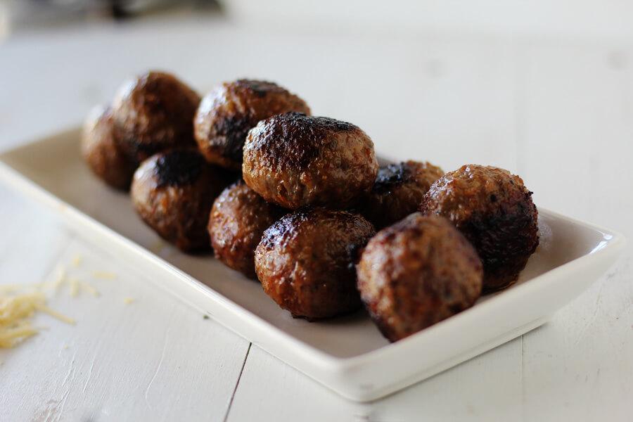 Delicious Italian style meatballs
