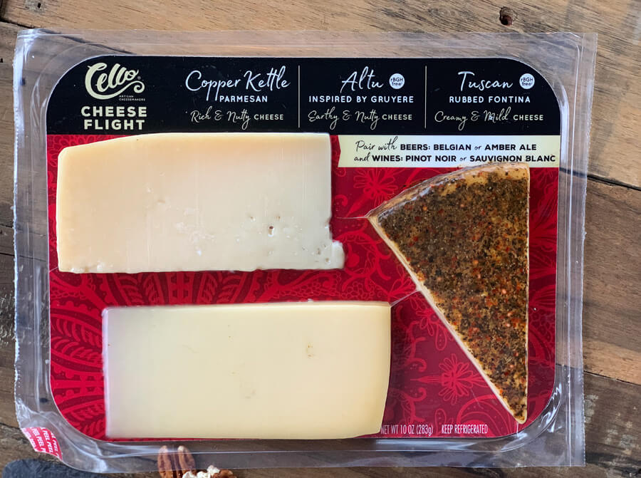 Cheese Flight from Cello, available at Publix