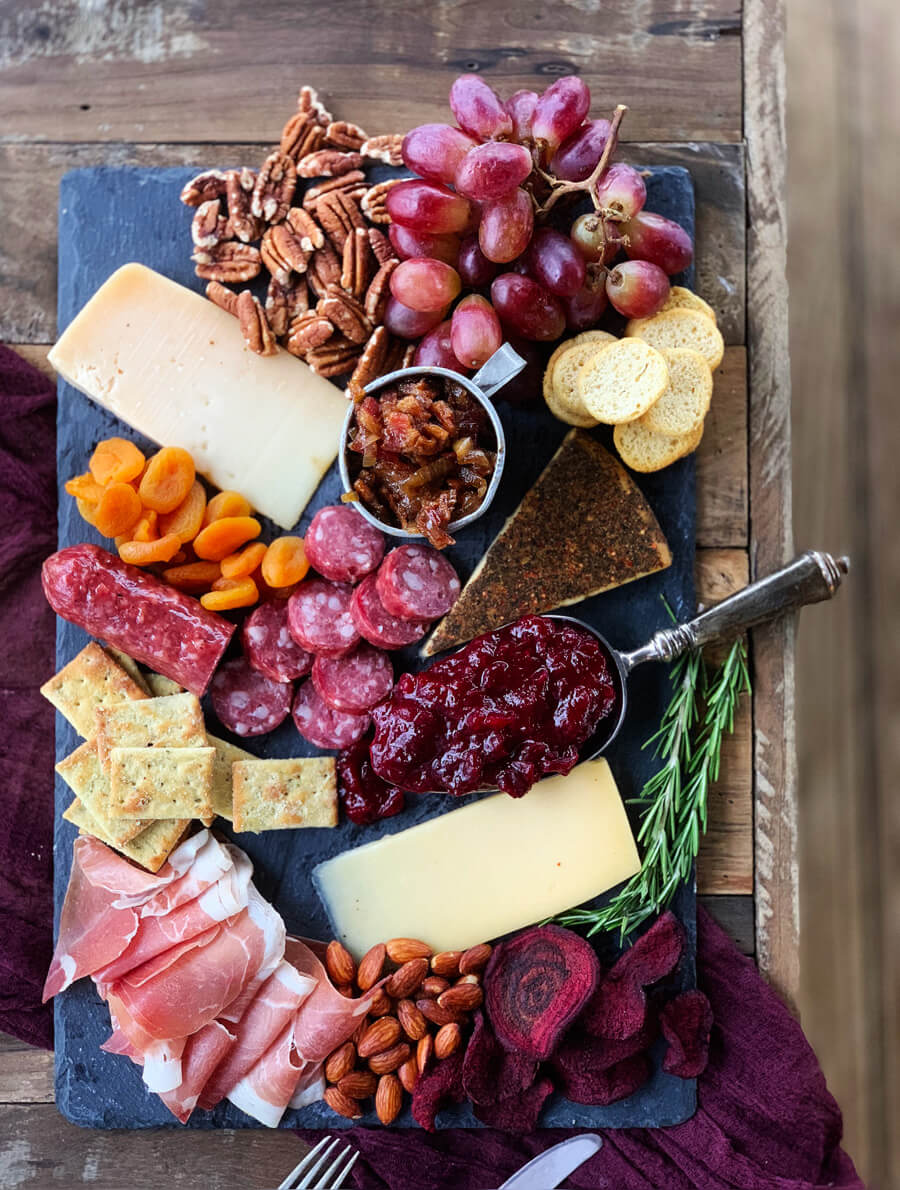 Gourmet Cheese Board + Homemade Bacon Jam