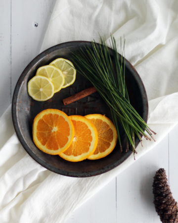 Make Christmas magic happen in your home with a few natural fruits, plants, and spices. In this post, we have 6 simple scents for homemade air fresheners that you can simmer on your stove top.