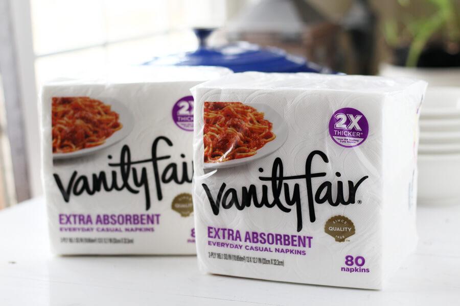 Vanity Fair® Extra Absorbent Napkins