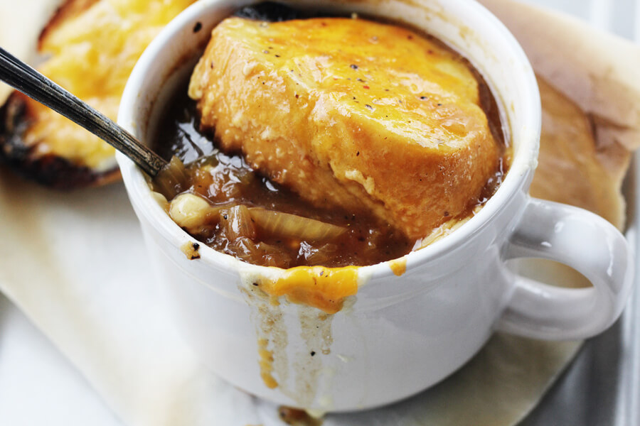 Foolproof Cheesy French Onion Soup | Buy This Cook That