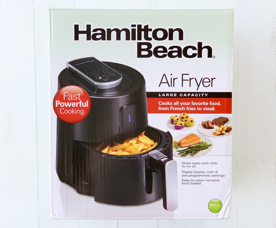 Hamilton Beach Large Capacity Air Fryer