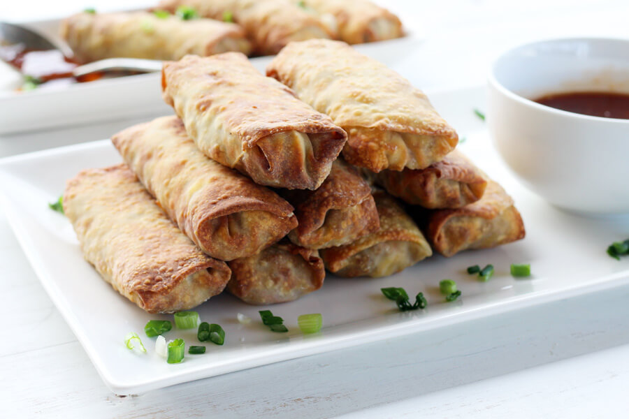 Homemade Air Fryer Egg Rolls | Buy This Cook That