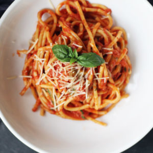 Bucatini Pasta in Chianti Sauce | Buy This Cook That