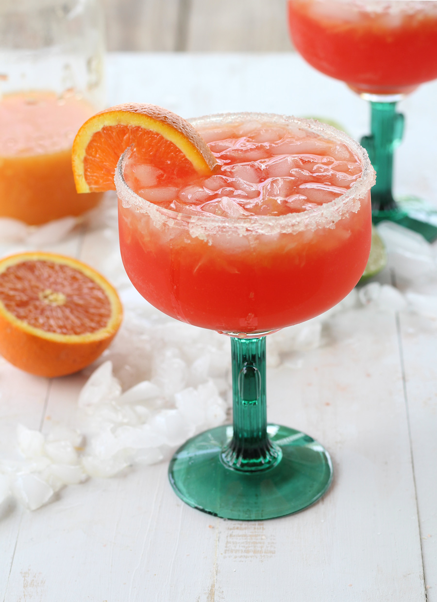 Sugar Sunset Margaritas...because we all need another reason to celebrate Cinco de Mayo, right?  #margaritas #margs #cincodemayo