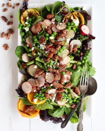 Grilled Citrus Spring Salad   Buy This Cook That