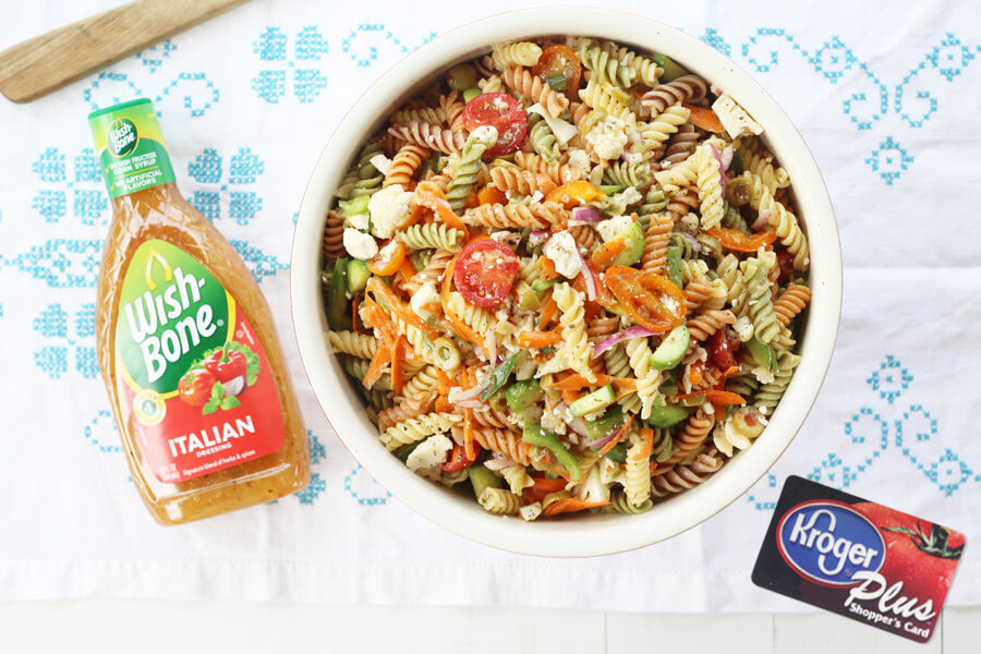 Zesty Italian Pasta Salad | Buy This Cook That