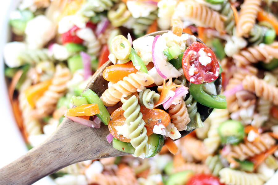 Zesty Italian Pasta Salad | Buy This Cook That