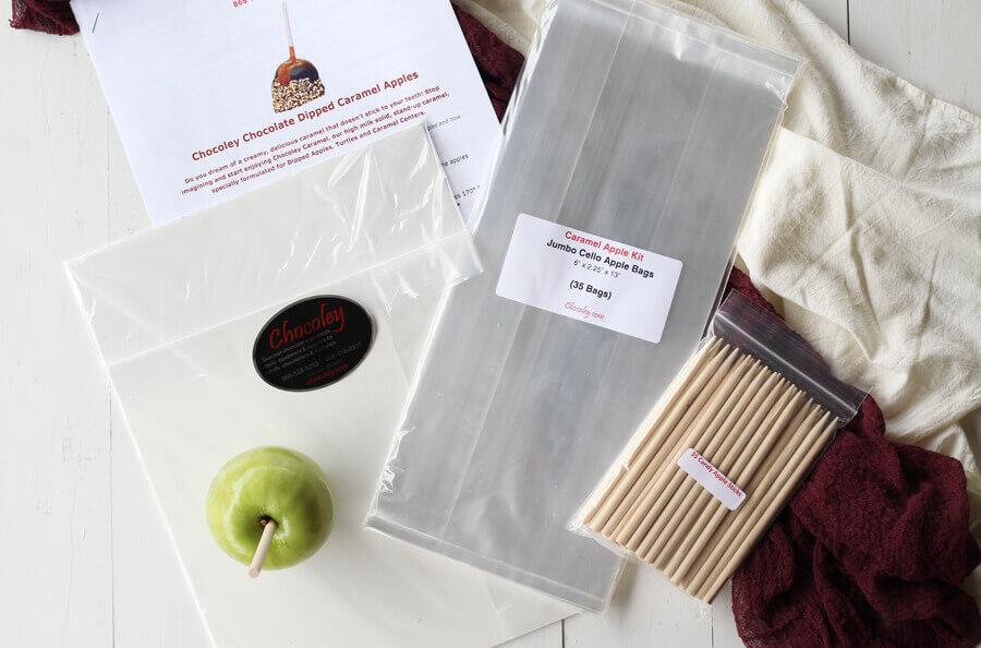 Chocoley Chocolate Caramel Apple Kit