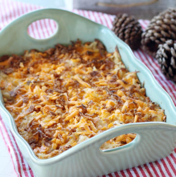 Cheesy Ranch Hashbrown Casserole