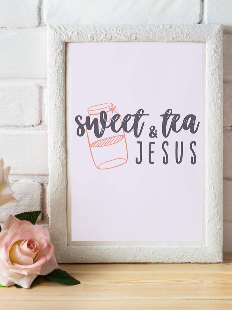 Sweet Tea + Jesus