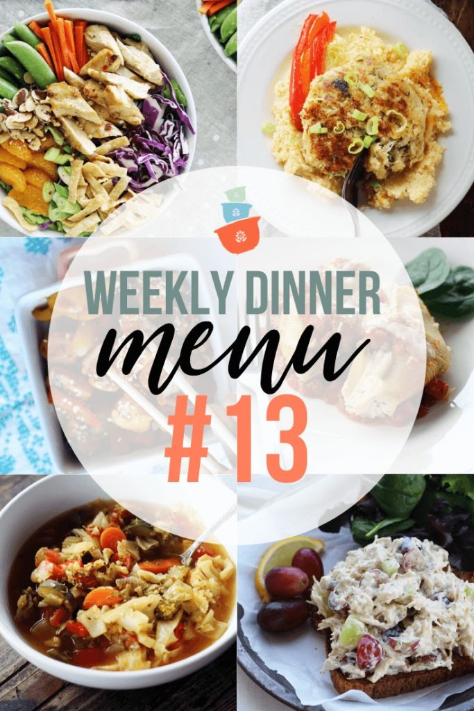Weekly Dinner Meal Plan #13