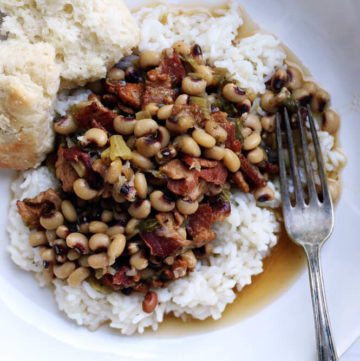Hot Bacon Hoppin' John