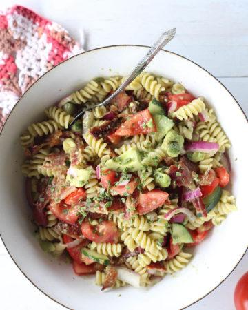 Bacon Tomato Avocado Salad