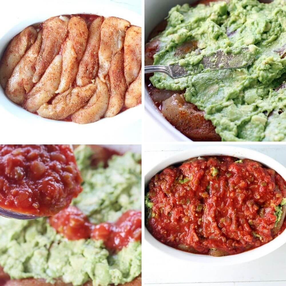 How to Make Salsa Avocado Chicken