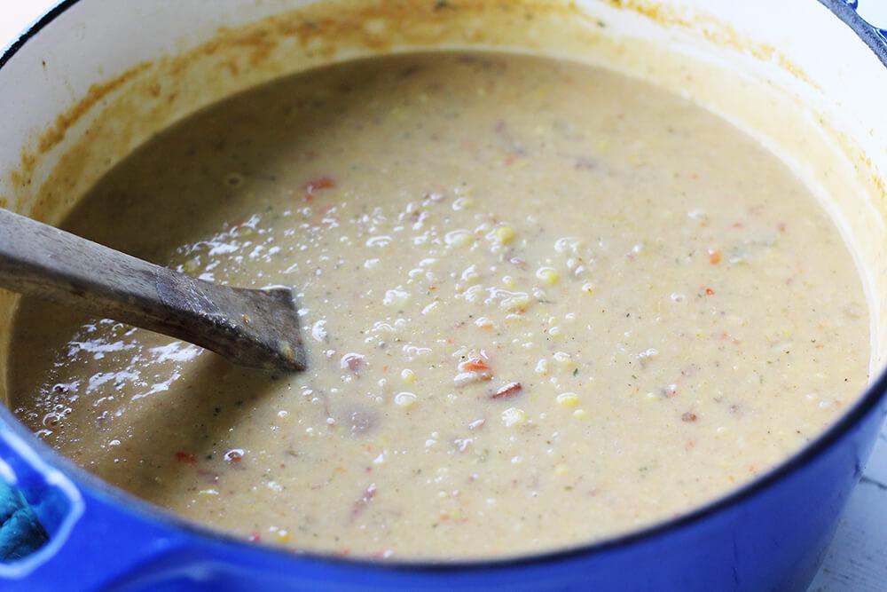 pot of chowder