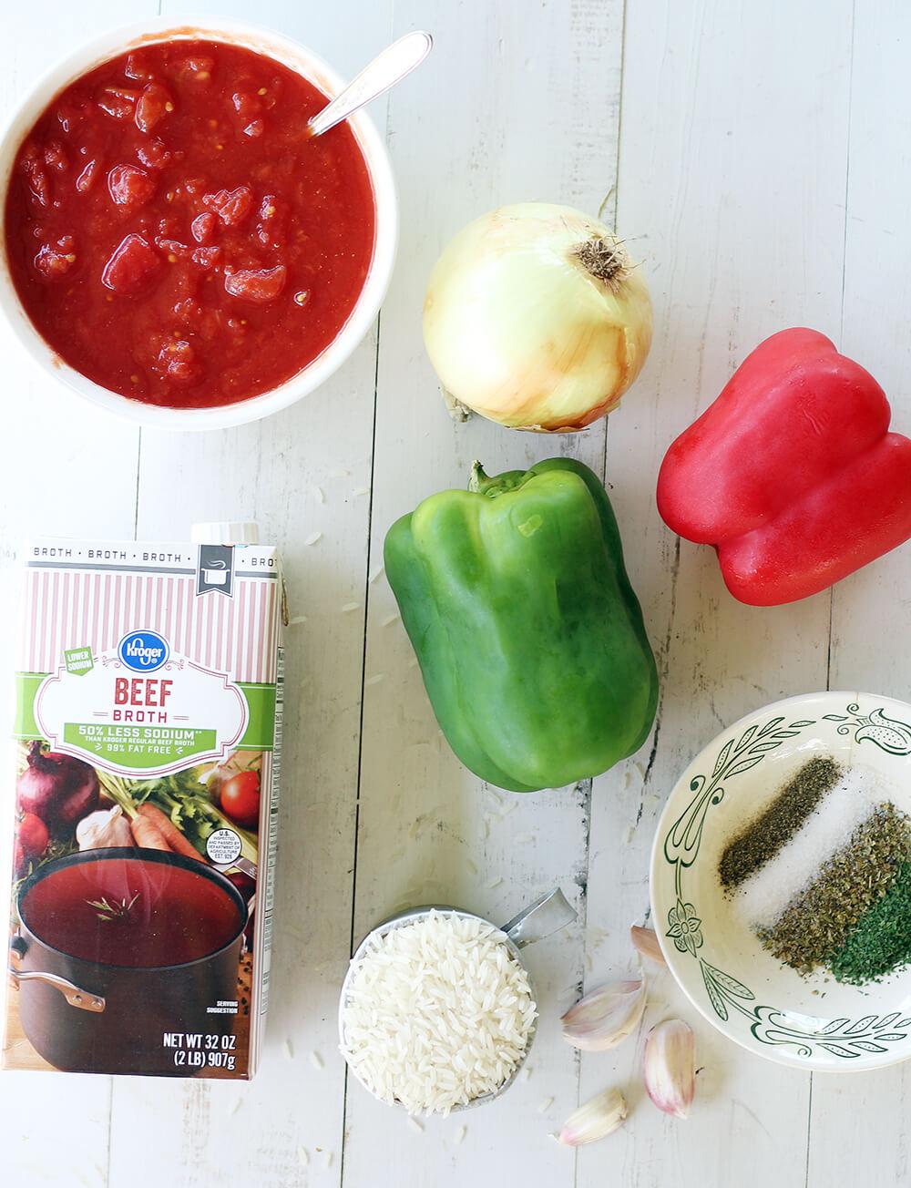 ingredients to make soup