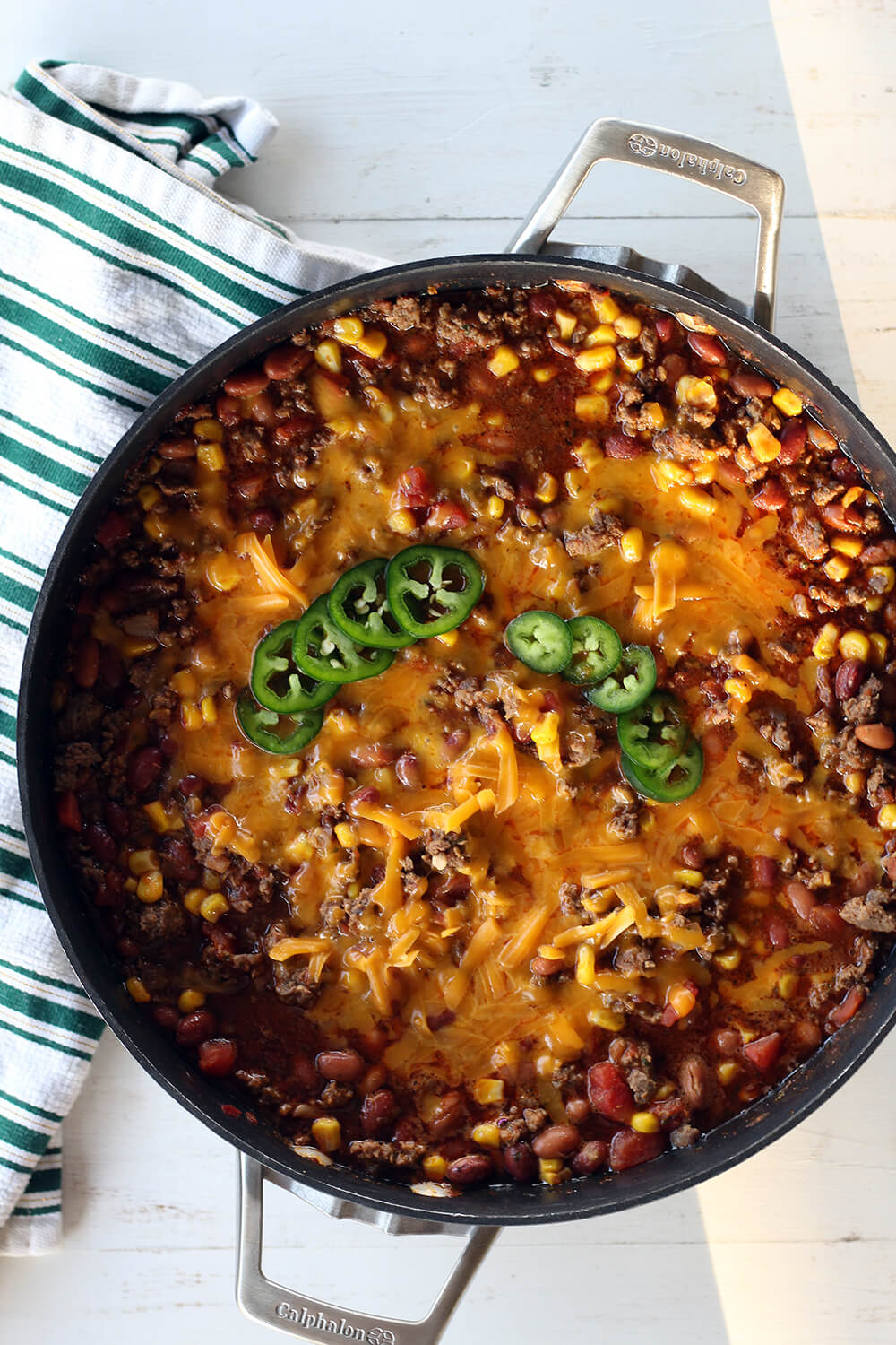 Taco style skillet dinner