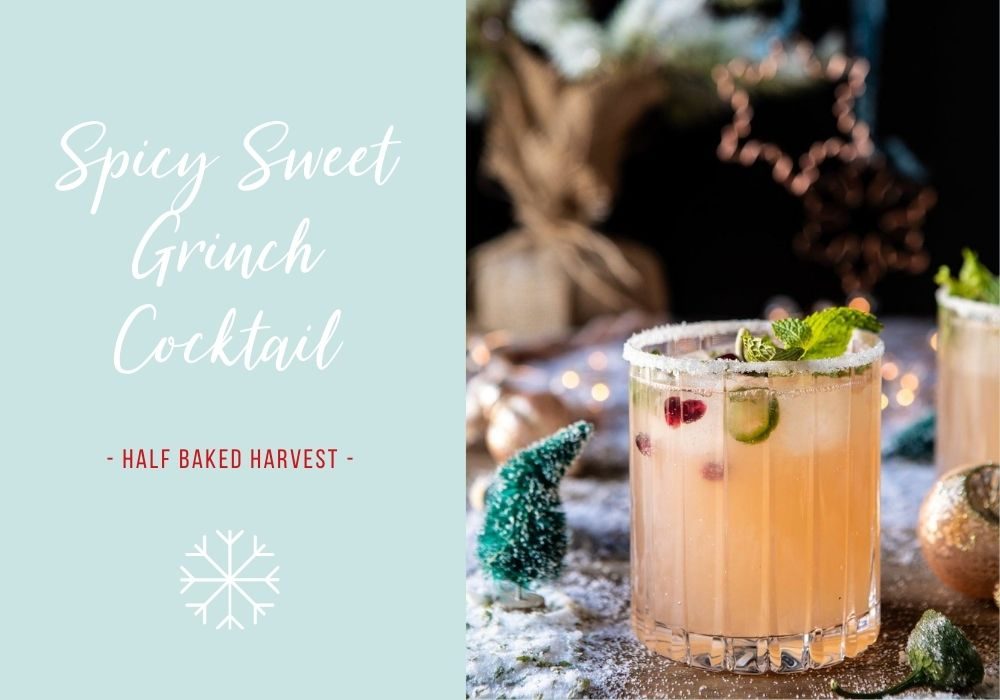 Spicy Sweet Grinch Cocktail