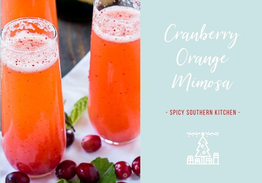 Cranberry Orange Mimosa