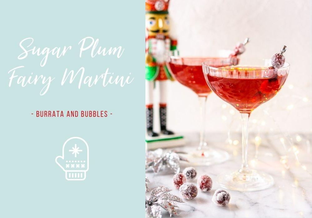 Sugar Plum Fairy Martini