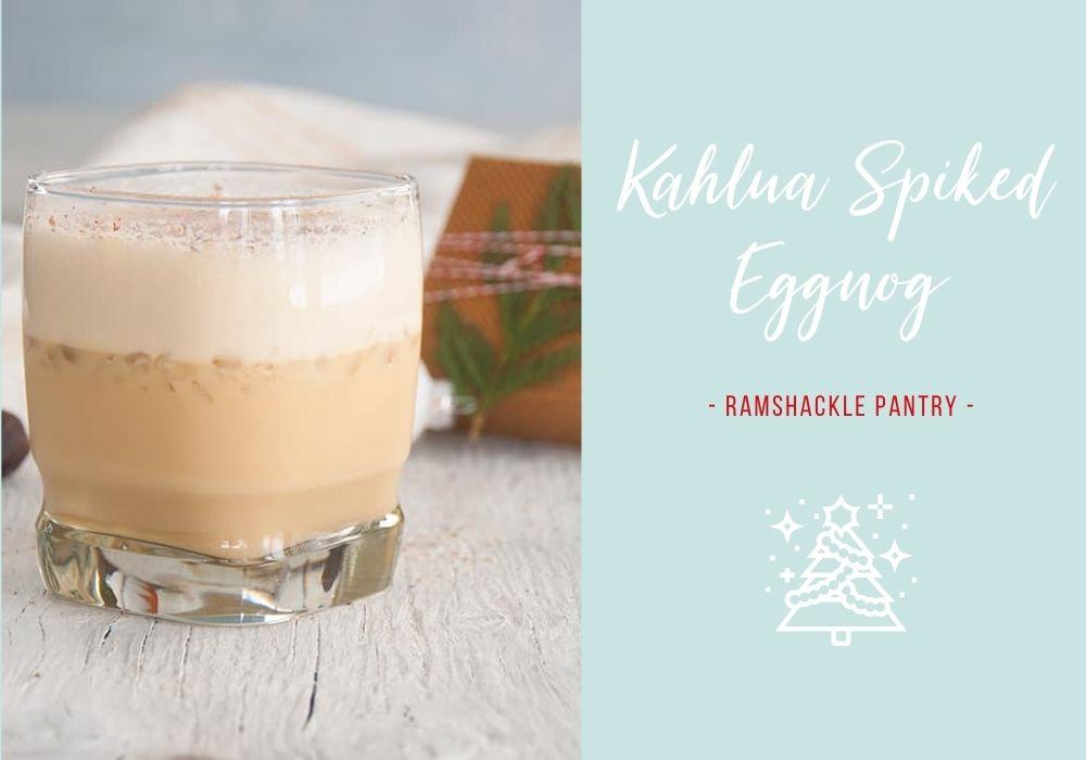 Kahlua Spiked Eggnog