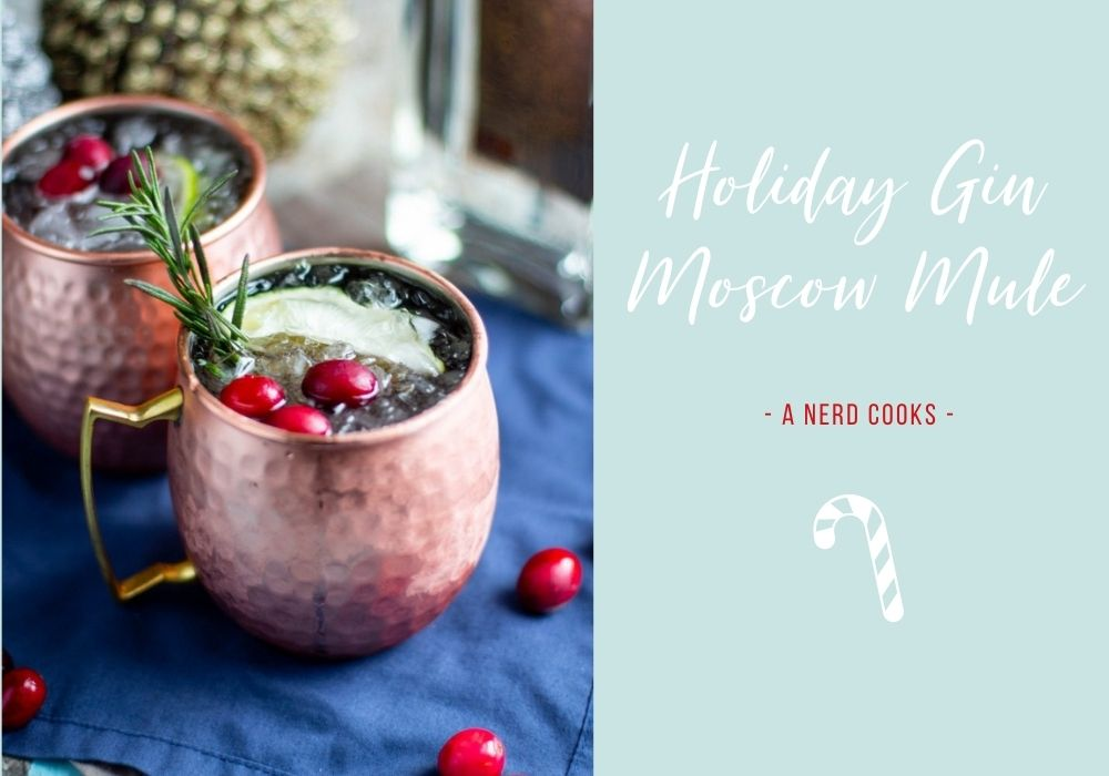 Holiday Gin Moscow Mule