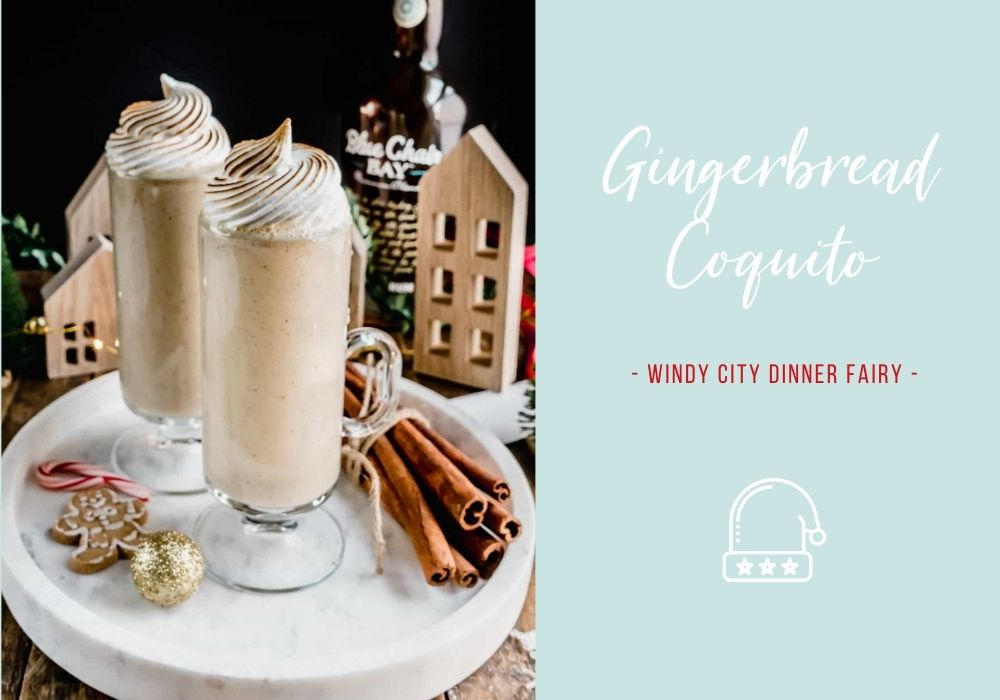 Gingerbread Coquito