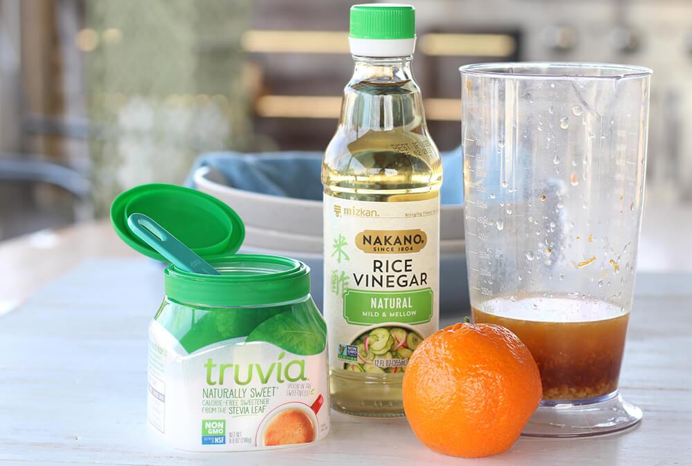 ingredients to make citrus marinade
