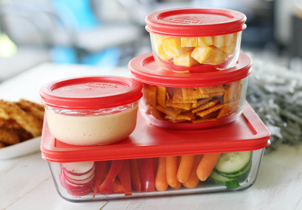 Pyrex Glass storage containers