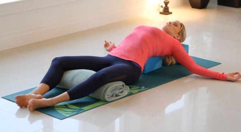 Restorative Yoga Zoe Bray Cotton