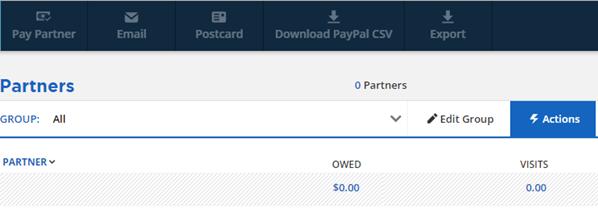 Partner Payment Management