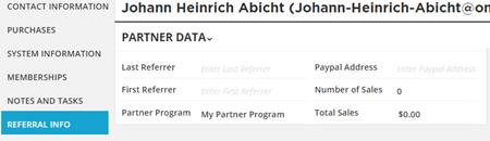 Partner Info