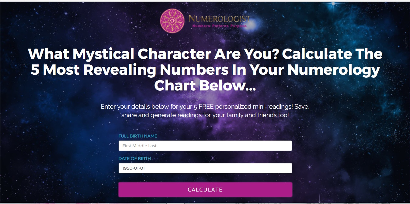 Simple steps to find your numerology number