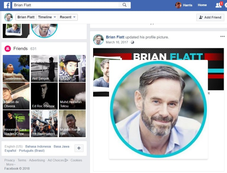 brian flatt facebook profile