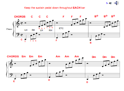musical notation with embedded music
